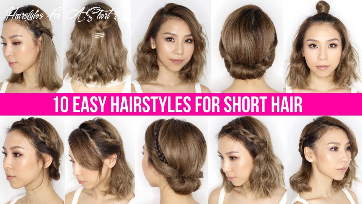 10 easy ways to style short hair & long bob tina yong hairstyles for a short bob