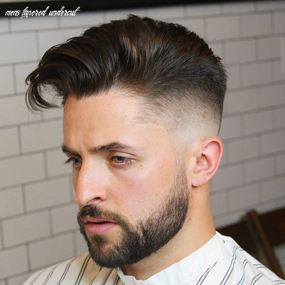 10 elegant taper fade haircuts: for clean cut gents mens tapered undercut