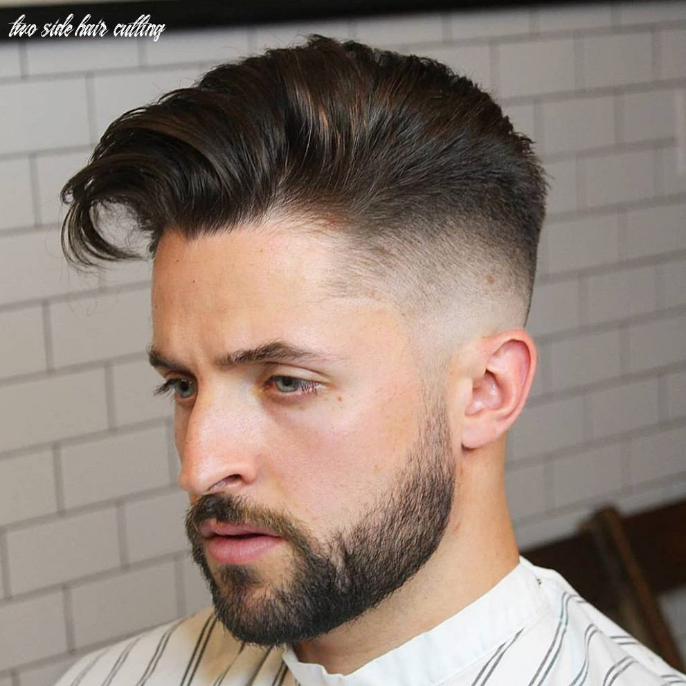 10 elegant taper fade haircuts: for clean cut gents two side hair cutting