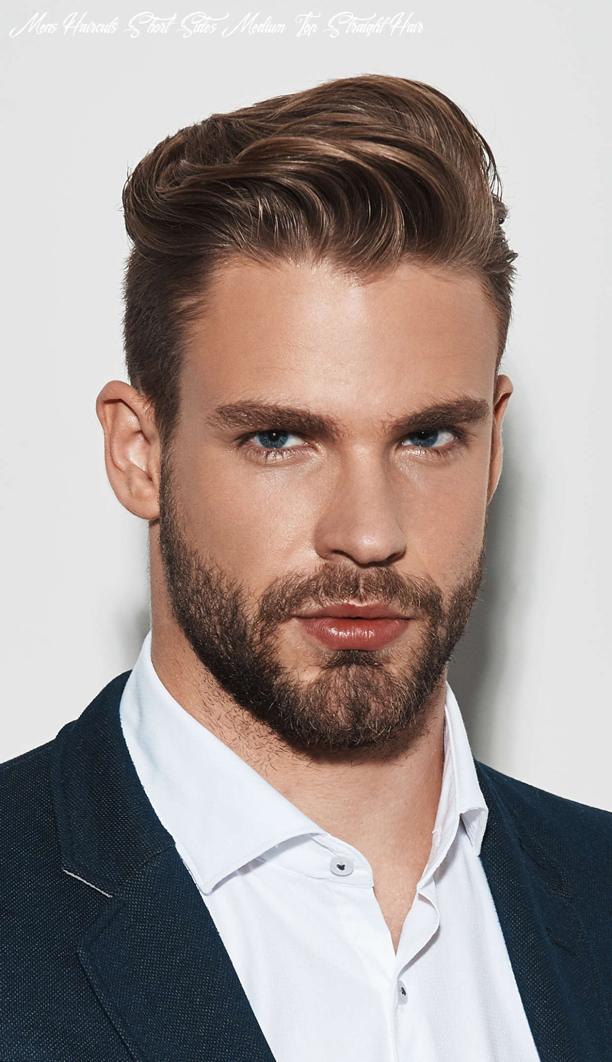 10 exquisite hairstyles for men with straight hair mens haircuts short sides medium top straight hair