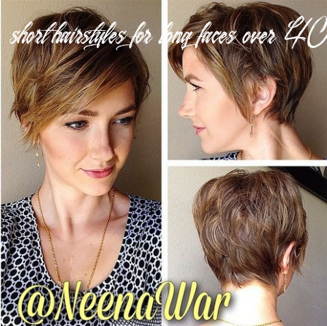 10 fabulous short hairstyles for long face short hairstyles for long faces over 40
