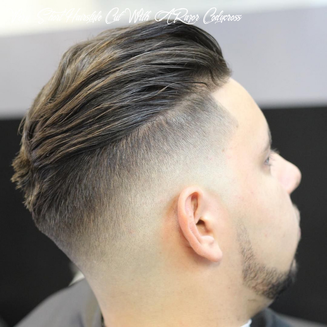 10 fade hairstyle undercut, amazing ideas! very short hairstyle cut with a razor codycross