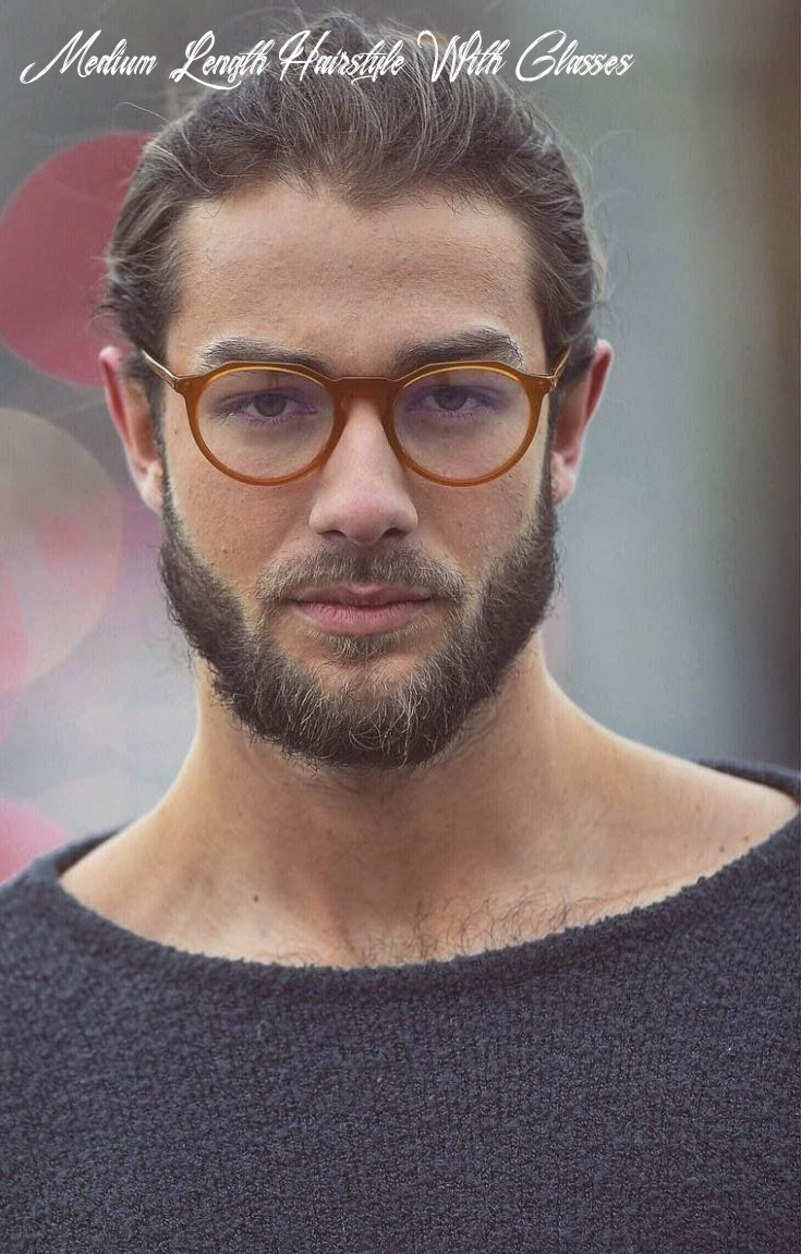 10 favorite haircuts for men with glasses: find your perfect style medium length hairstyle with glasses