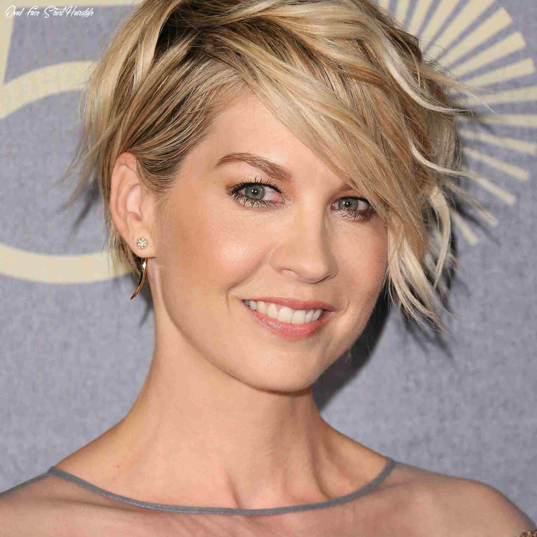 10 flattering hairstyles for oval faces oval face short hairstyle