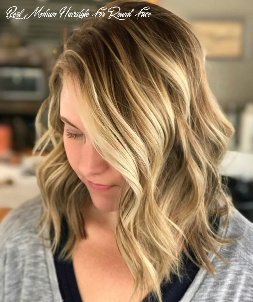 10 flattering medium hairstyles for round faces in 10 best medium hairstyle for round face