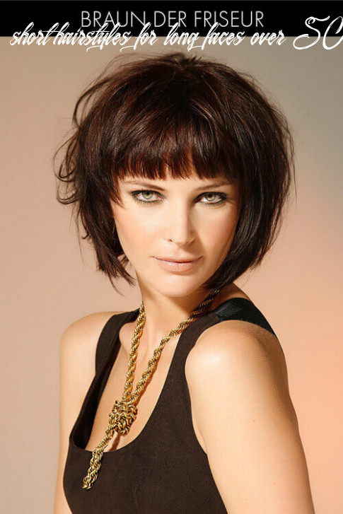 10 flattering short hairstyles for long faces in 10 short hairstyles for long faces over 50