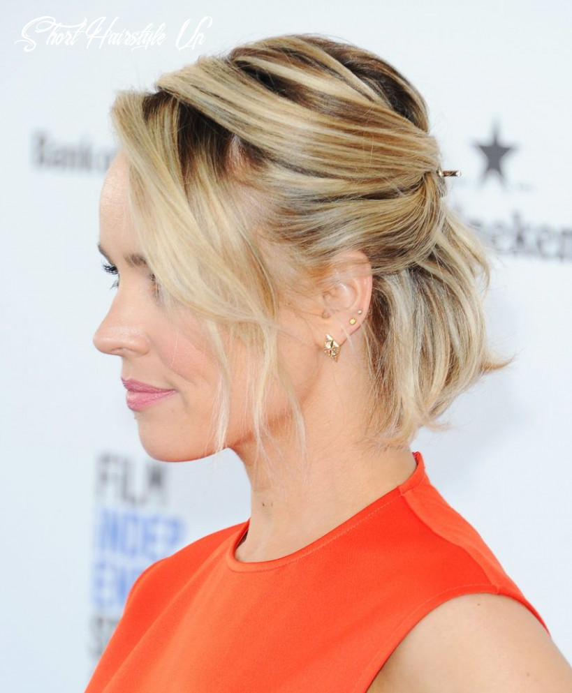 10 formal hairstyles for short hair to rock this party season