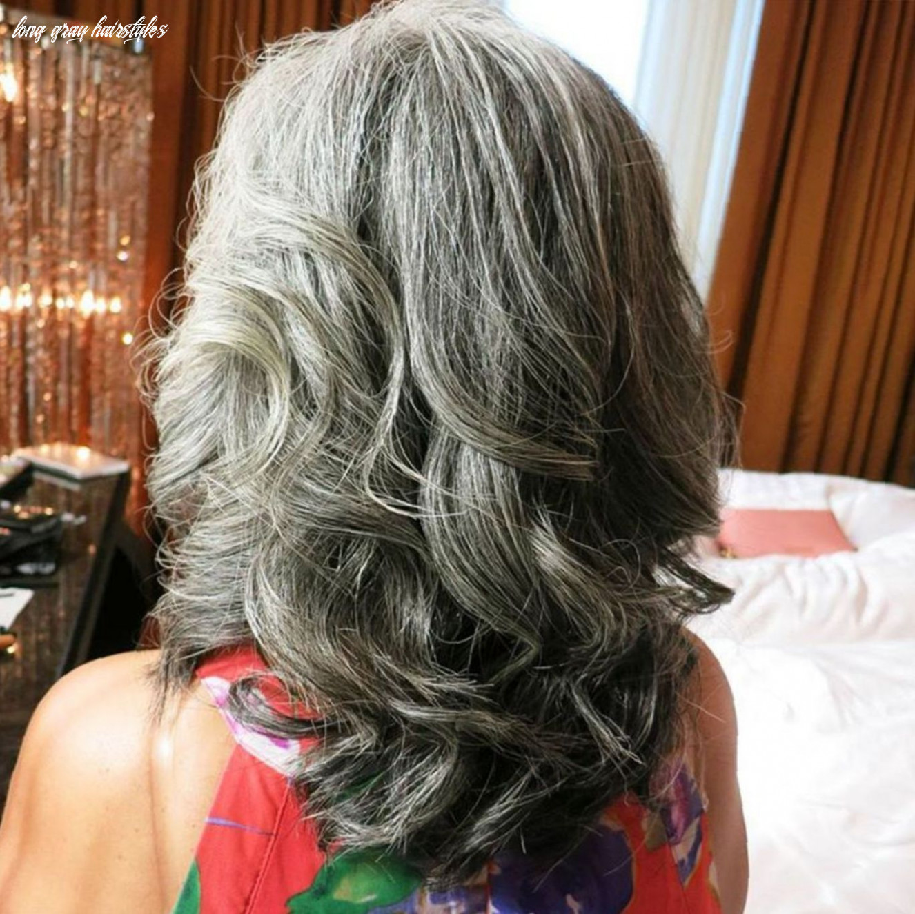 10 gorgeous gray hair styles   thick hair styles, grey curly hair