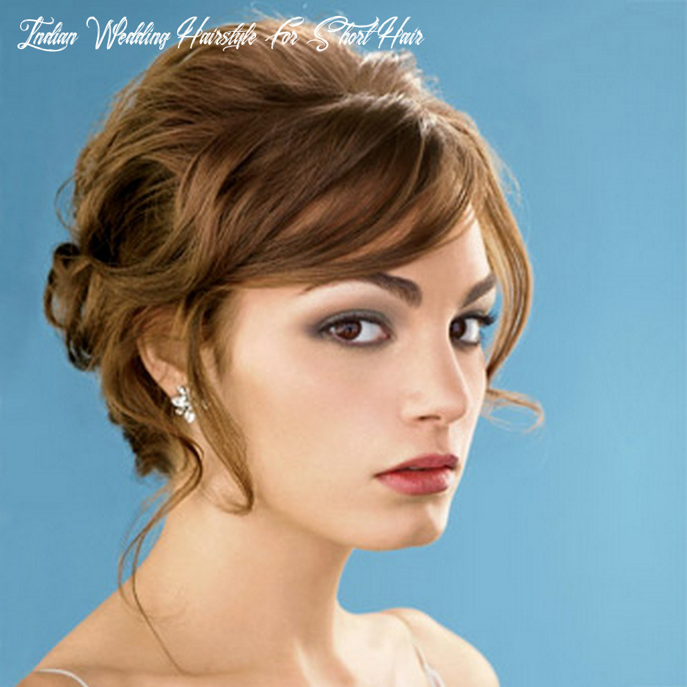 10 gorgeous indian wedding hairstyles for short hair   flickr indian wedding hairstyle for short hair
