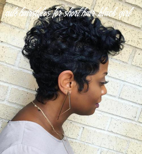 10 great short hairstyles for black women – therighthairstyles cute hairstyles for short hair black girl