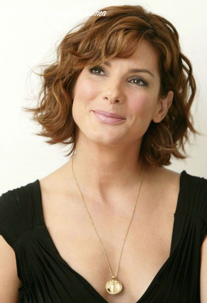 10 hairstyles for older women   haircuts for wavy hair, medium