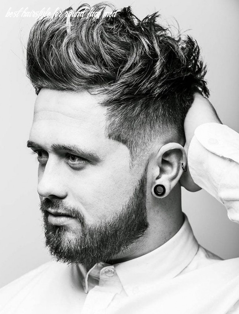 10 hairstyles for round faces men & what you can learn from them best hairstyle for round face men