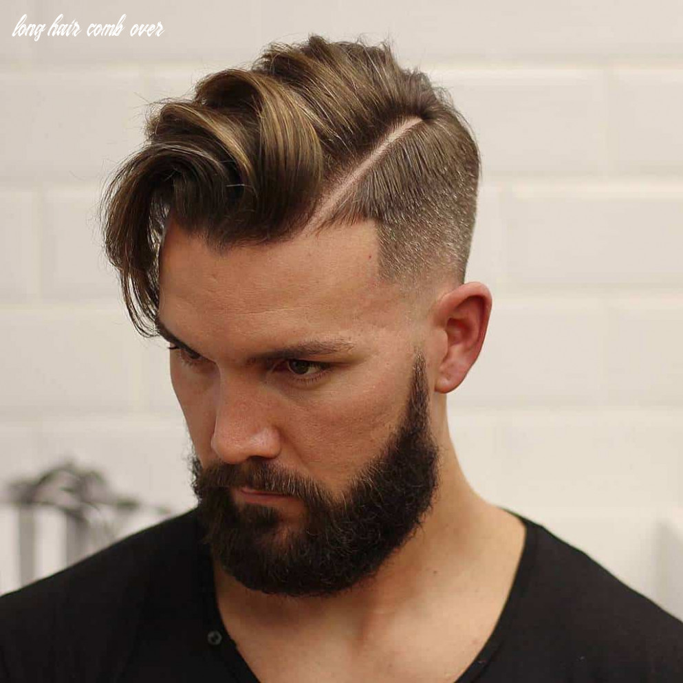 10 Handsome Taper Fade Comb Over Hairstyles [July. 10]