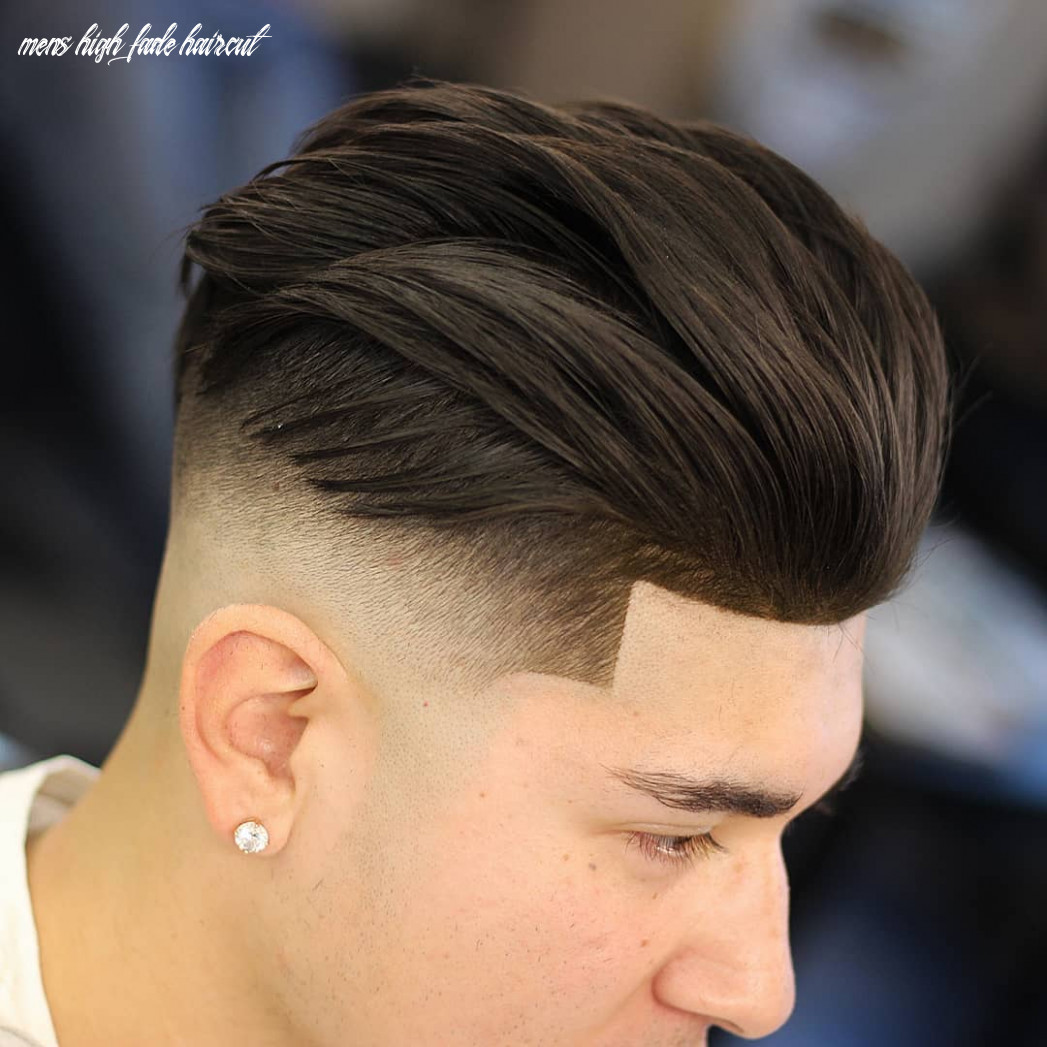 10 High Fade Haircuts For 10