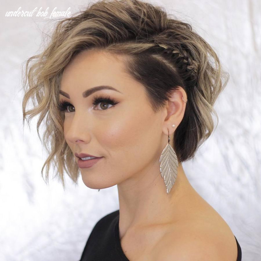 10 impressive undercut bob hair ideas belletag undercut bob female