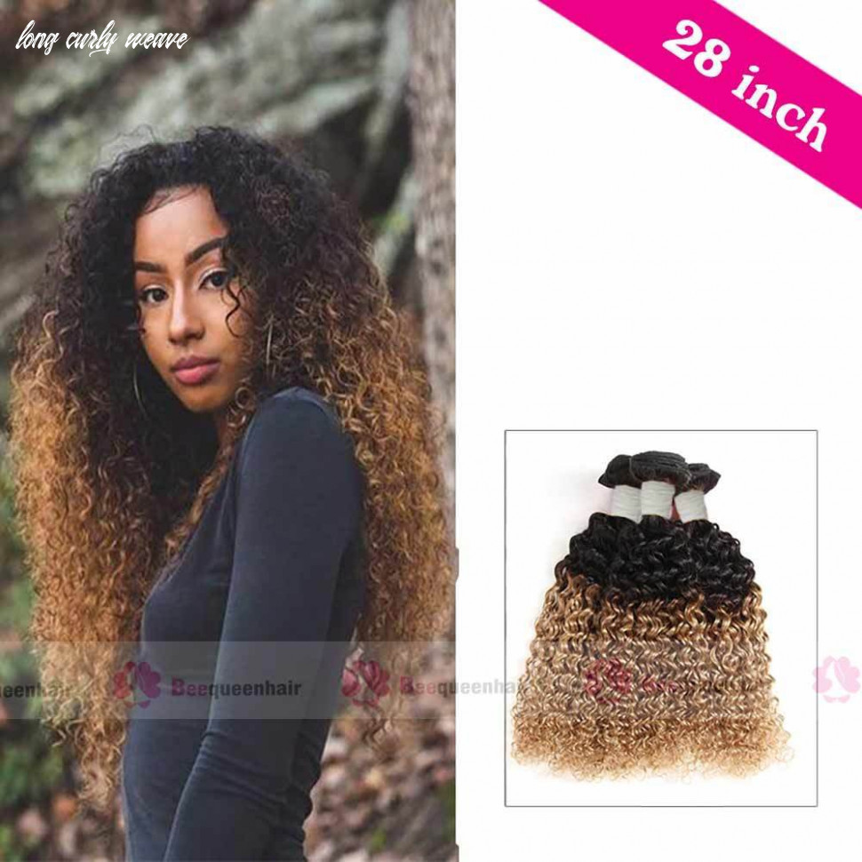 10 inch human curly weave hair extensions with ombre colors