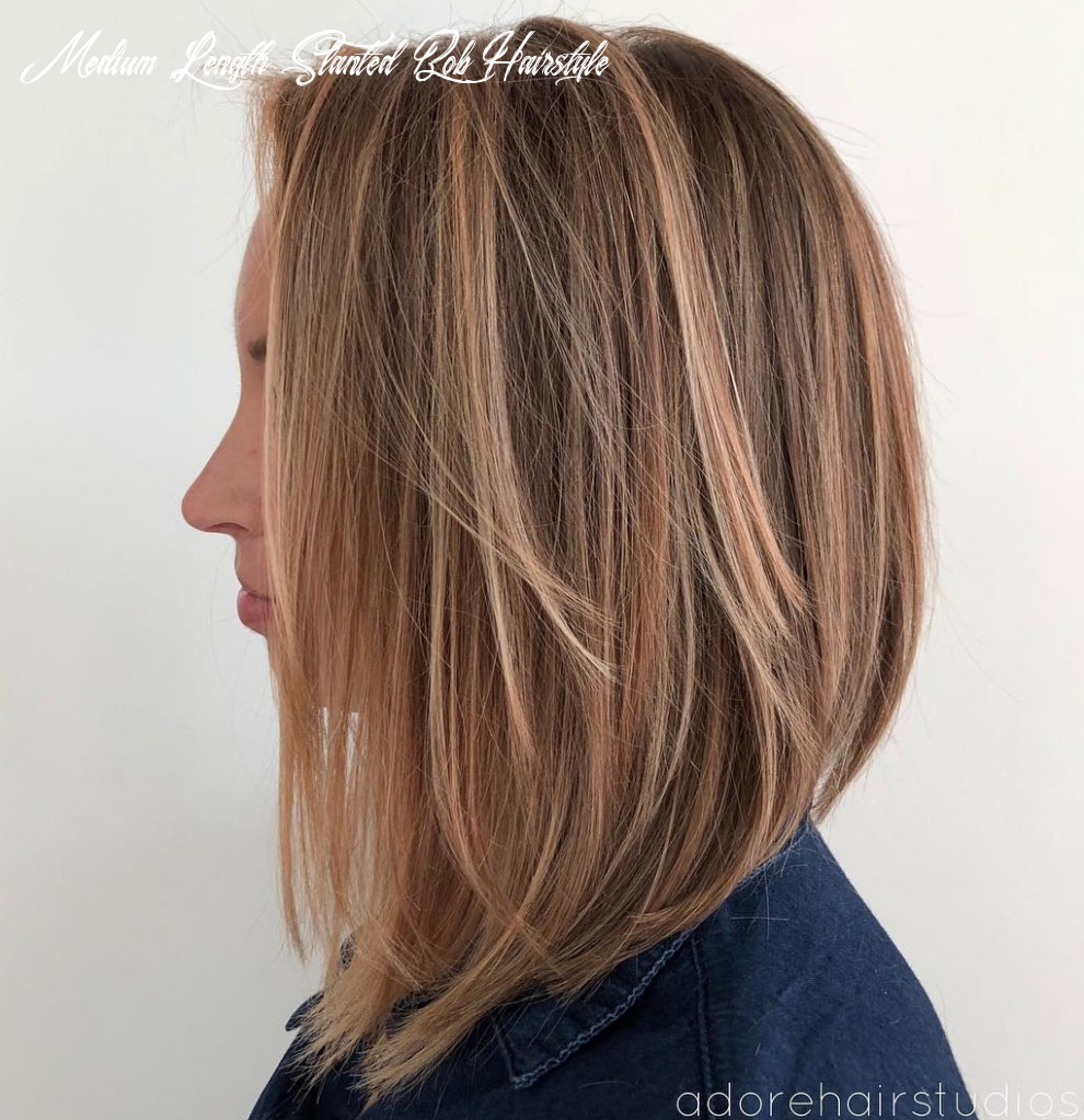 10 layered bobs you will fall in love with hair adviser medium length slanted bob hairstyle