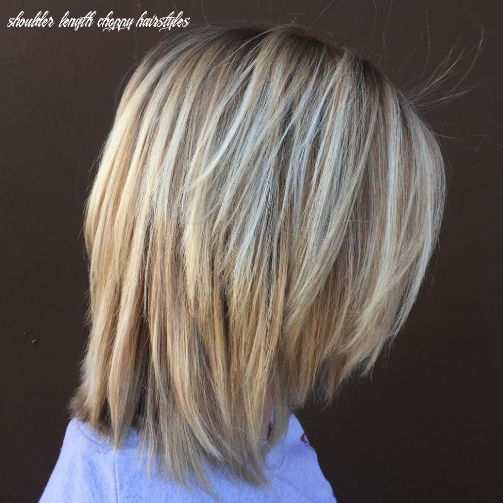 10 long choppy bob hairstyles for brunettes and blondes | bob