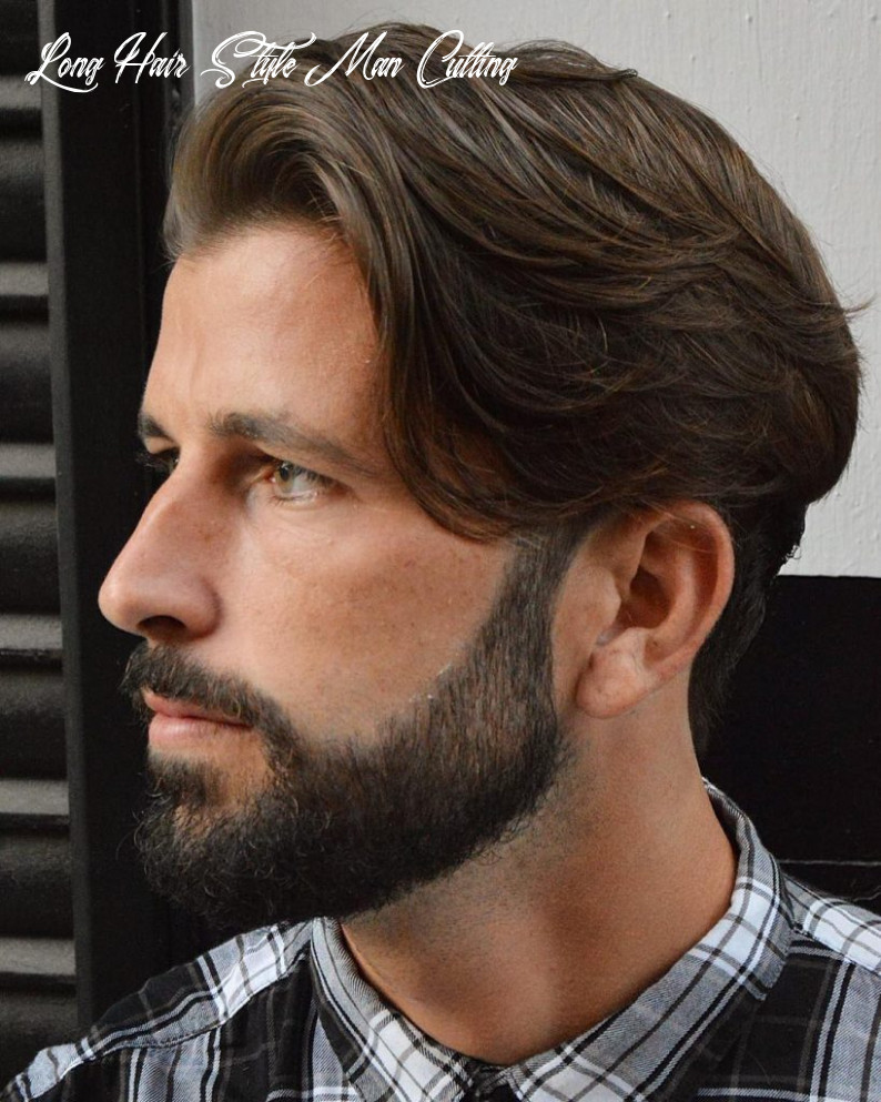 10+ Long Hair Haircuts + Hairstyles For Men: BEST Of -> July 10