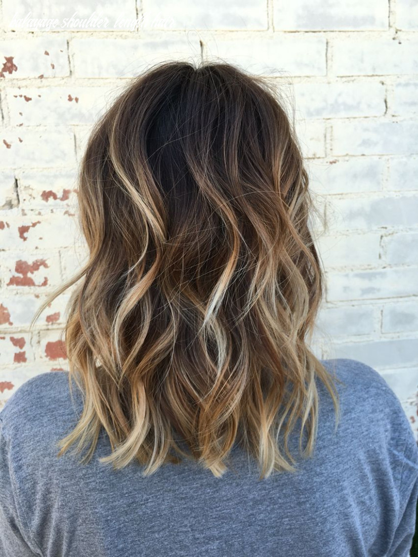 10 look for balayage short hairstyle   brown blonde hair, brown