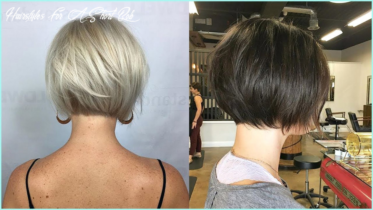 10 medium and short bob haircut ideas, casual short hairstyles for women hairstyles for a short bob