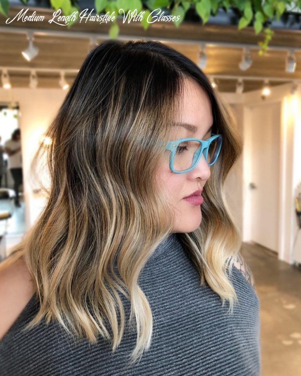 10 medium hairstyles for oval faces in 10 medium length hairstyle with glasses
