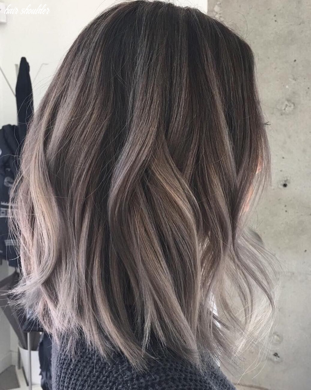 10 medium length hair color heaven – beige – brown – blonde & gray