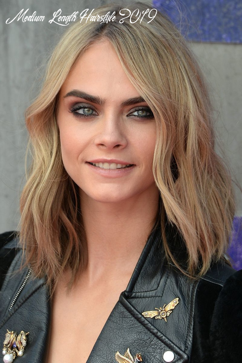 10 Medium Length Hairstyle Trends You Need For 1019 | Short Hair ...
