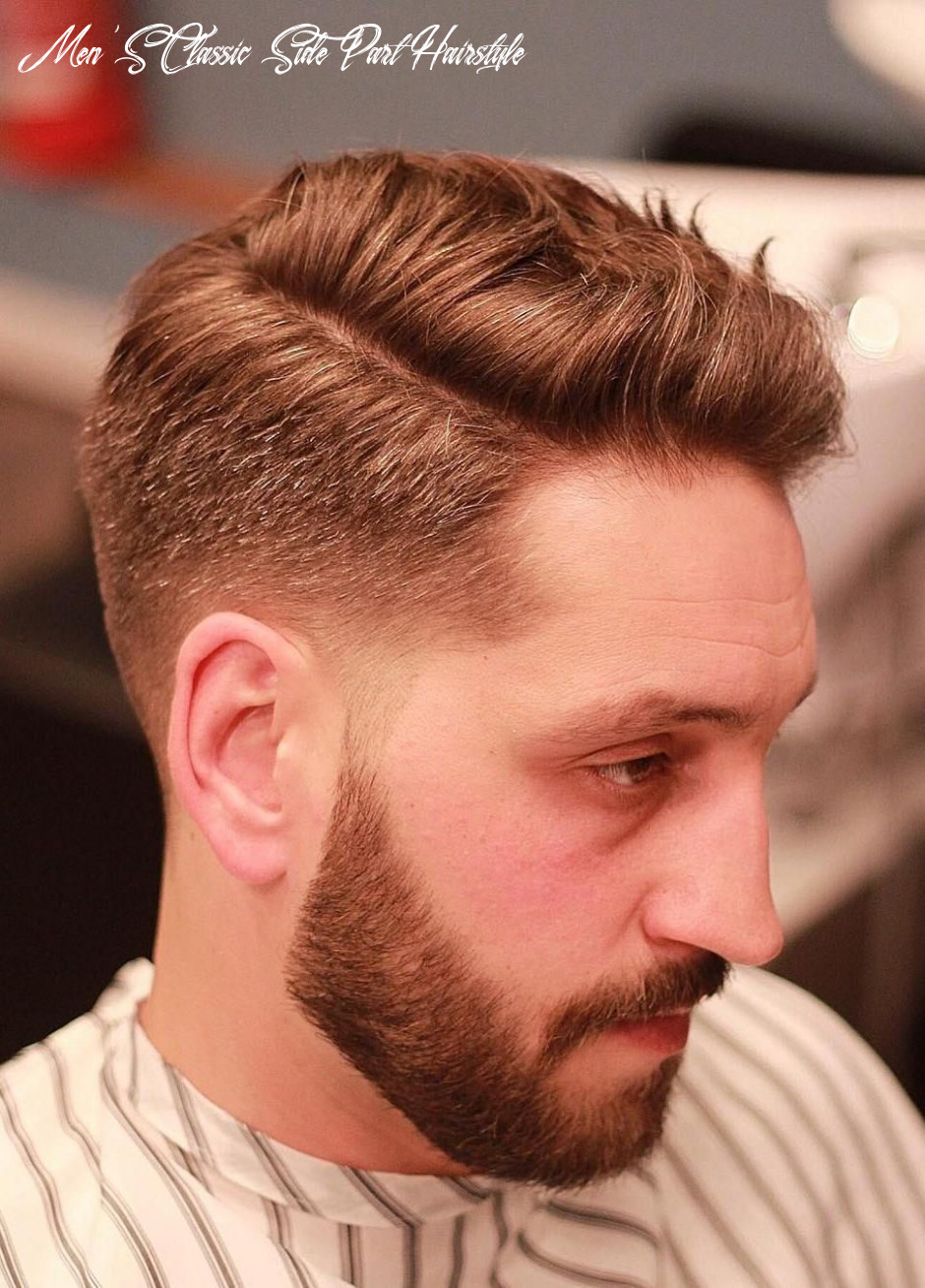 10 mens side part hairstyles be the trend setter of 10! | mens