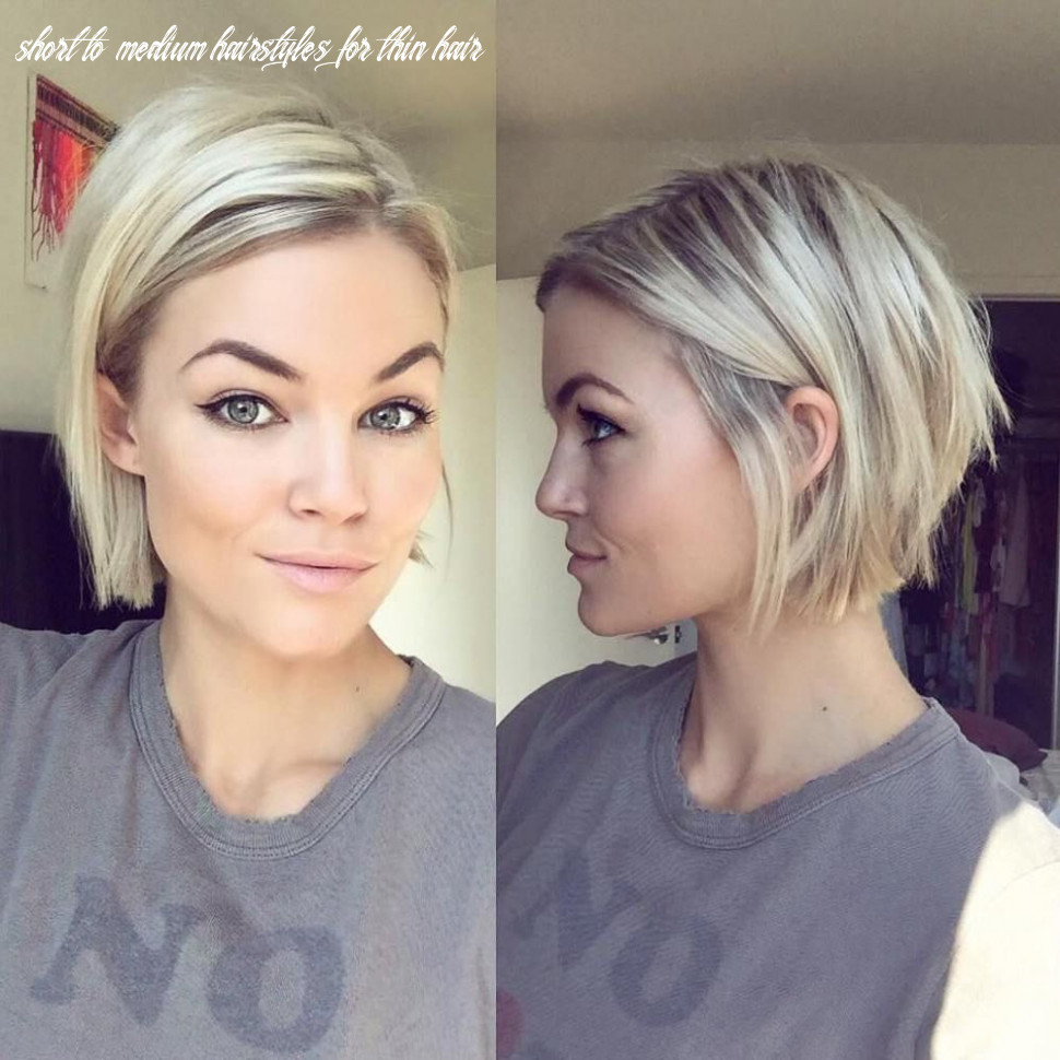 10 mind blowing short hairstyles for fine hair | short straight