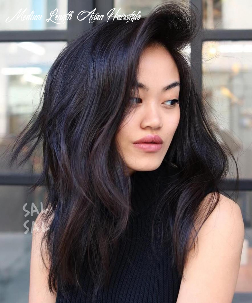 10 most beneficial haircuts for thick hair of any length | asian