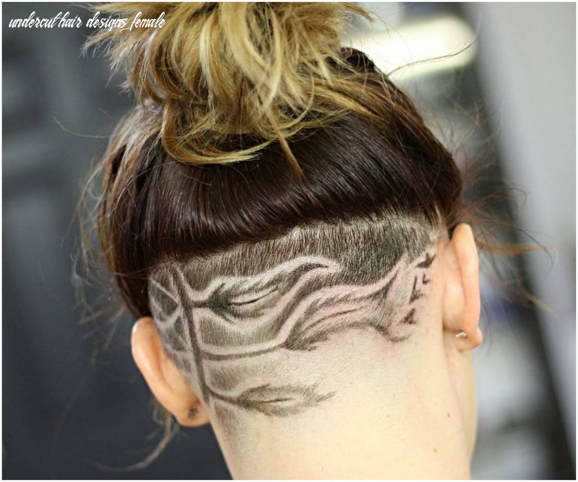 10 most elegant undercuts haircuts & hairstyles for female