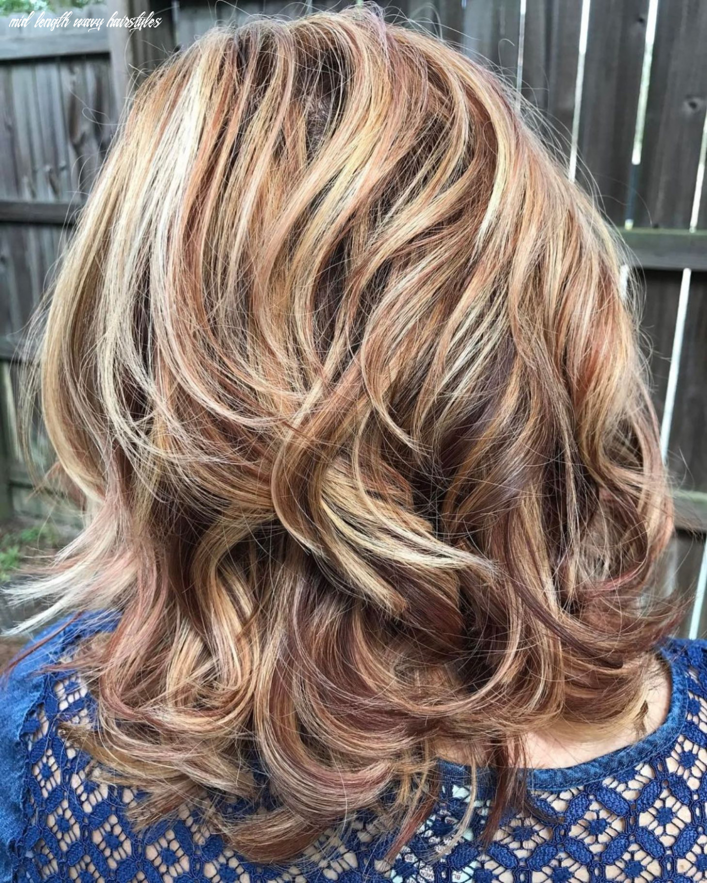 10 most magnetizing hairstyles for thick wavy hair | medium hair