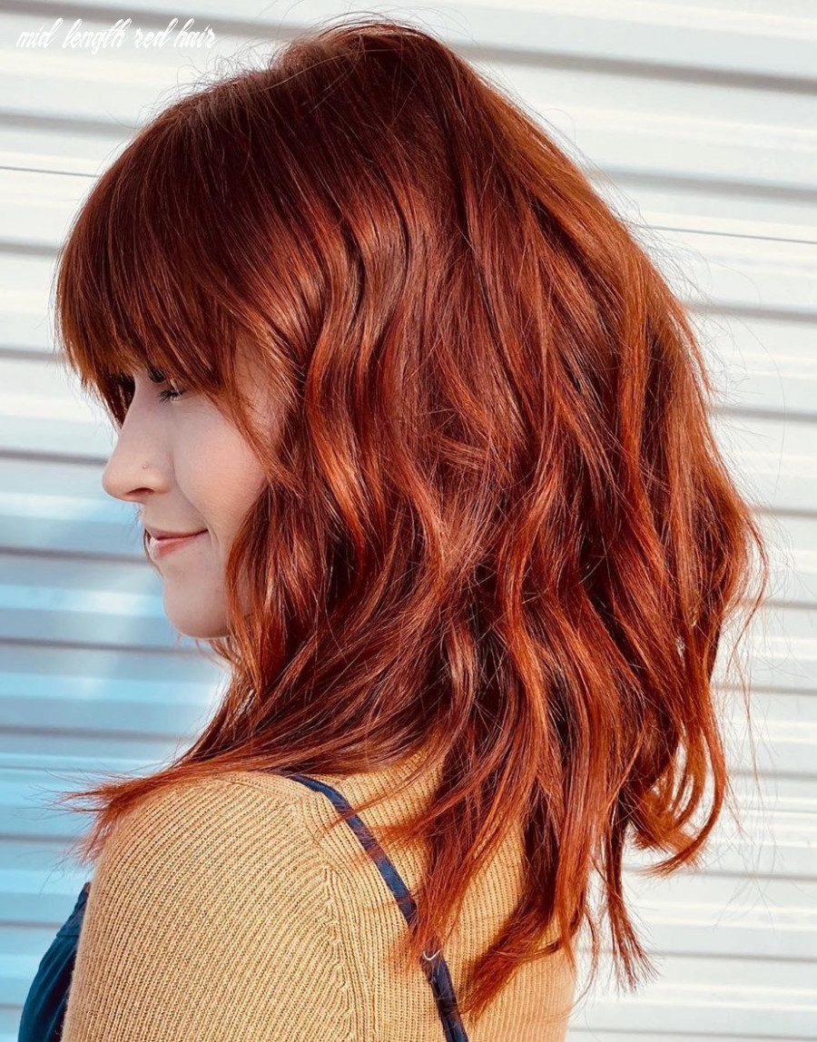 10 new red hair ideas & red color trends for 10 hair adviser mid length red hair