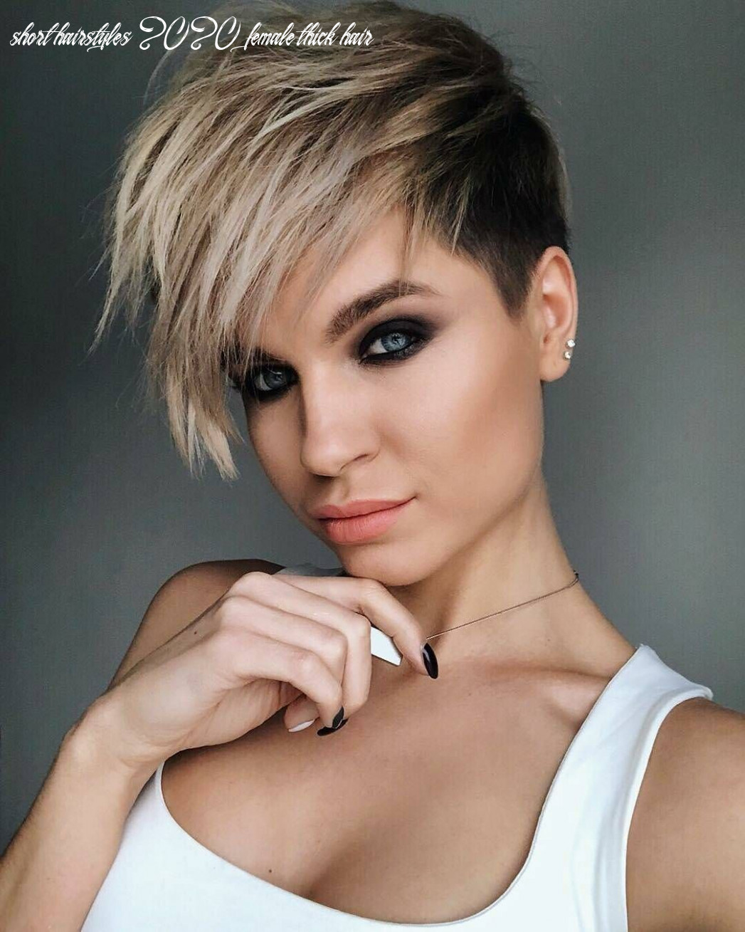 10 new short hairstyles for thick hair 10 | frisuren