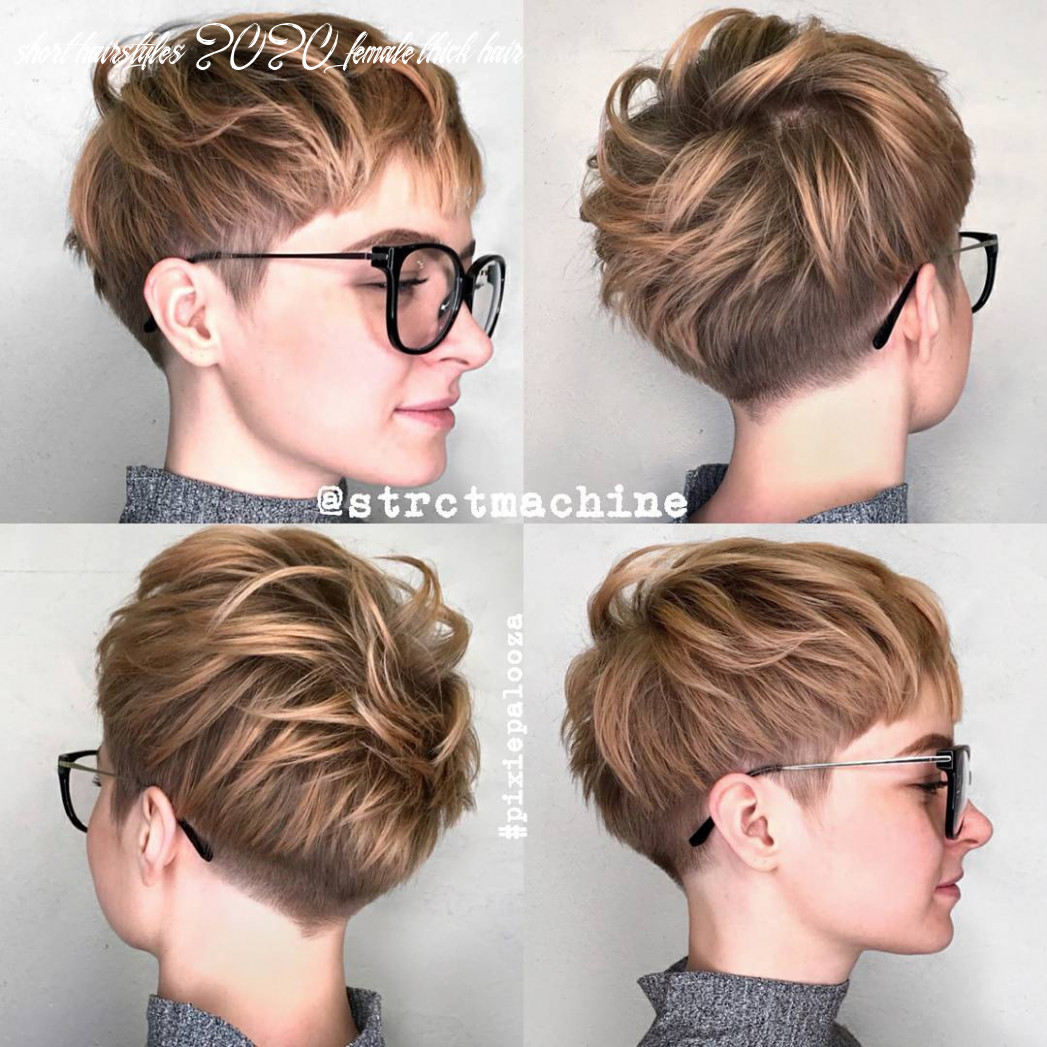10 new short hairstyles for thick hair 10 short hairstyles 2020 female thick hair