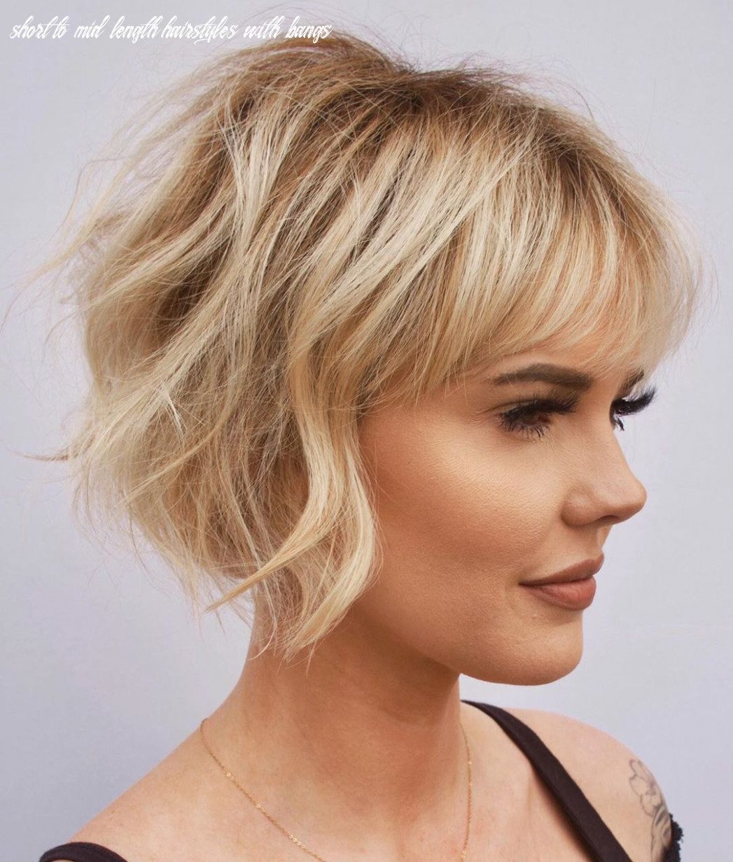 10 newest haircut ideas and haircut trends for 10 hair adviser short to mid length hairstyles with bangs