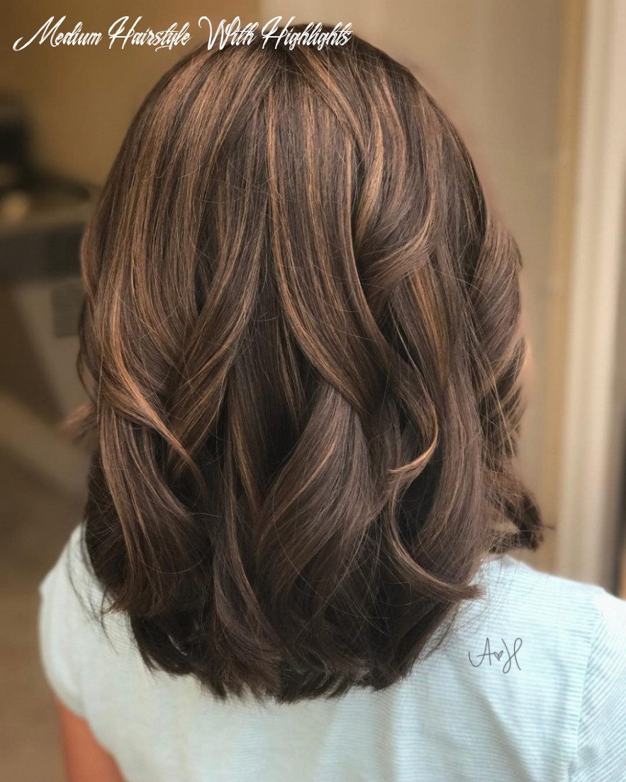 10 nice shoulder length hairstyle with highlights medium hairstyle with highlights