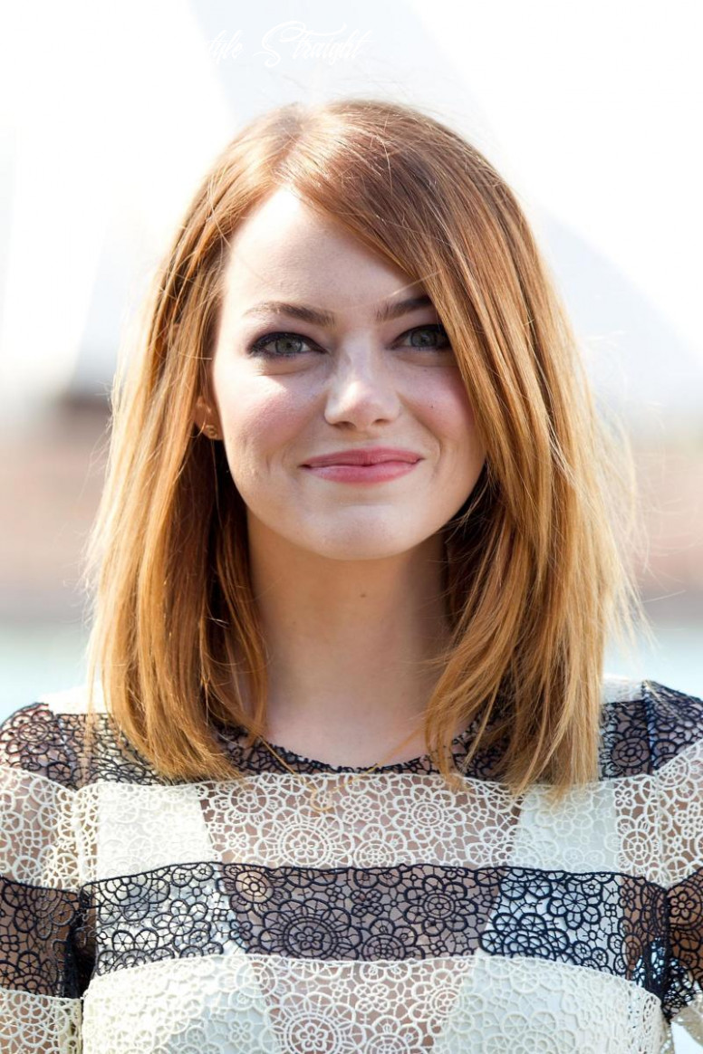 10 of the Best Hairstyles for Medium-Length Straight Hair - The ...
