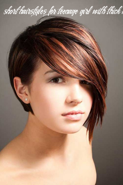10 of the cutest hairstyles for teenage girls [10 updated] short hairstyles for teenage girl with thick hair
