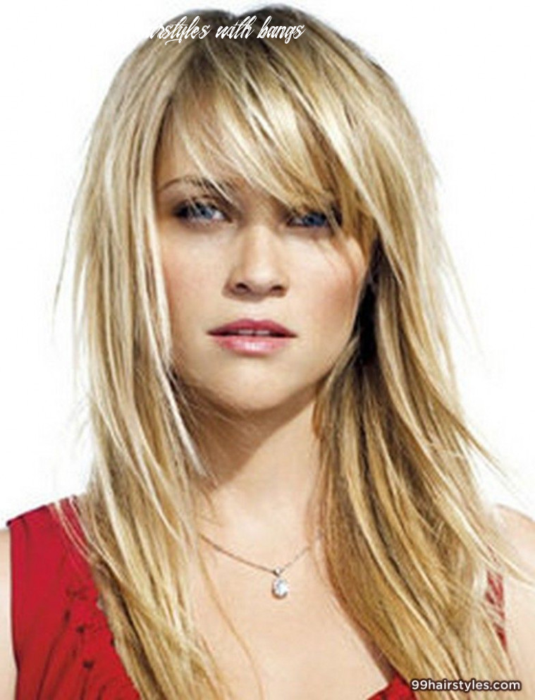 10 of the most beautiful long hairstyles with bangs | bangs with