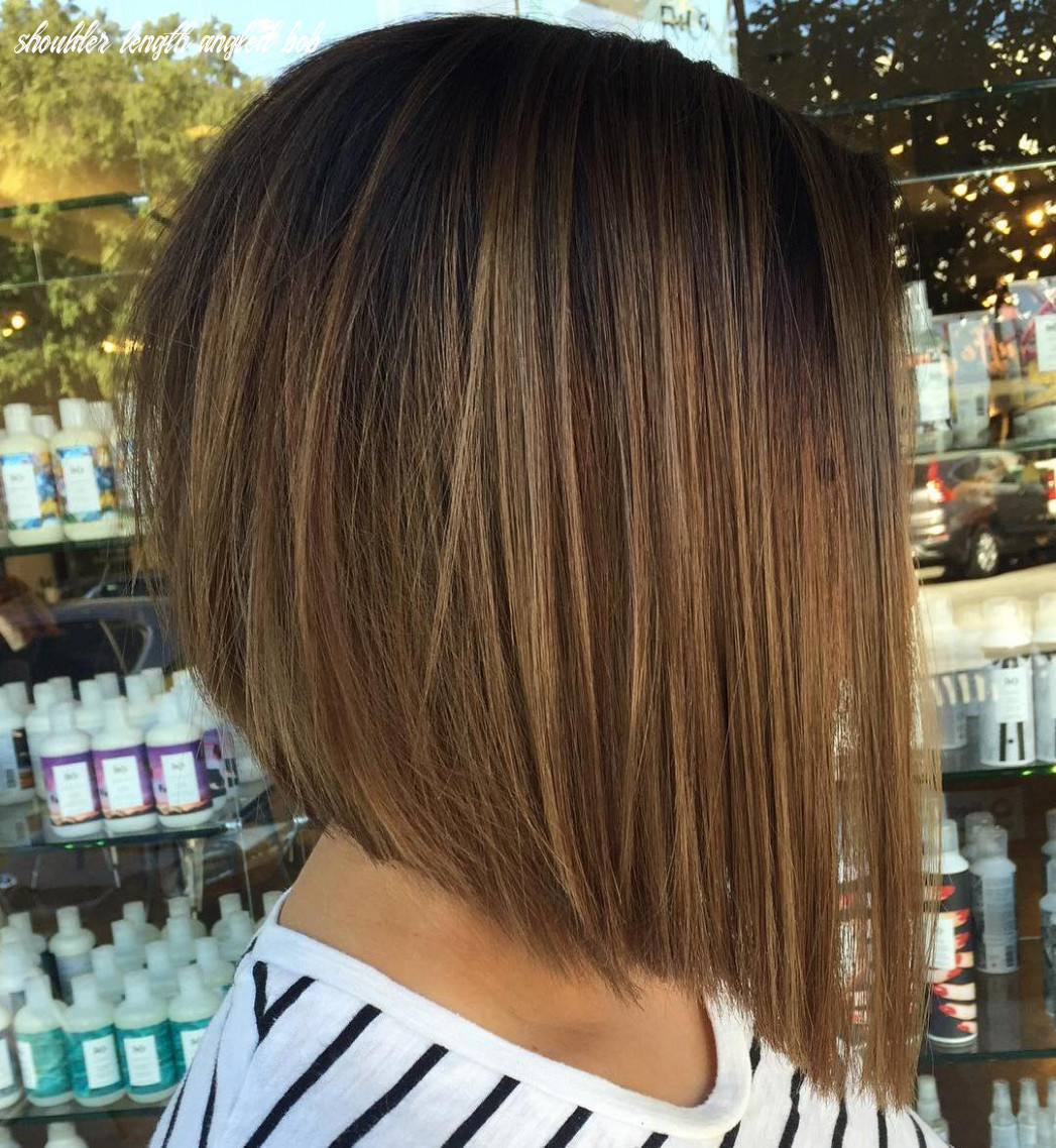10 on trend bob haircuts for fine hair in 10 hair adviser shoulder length angled bob