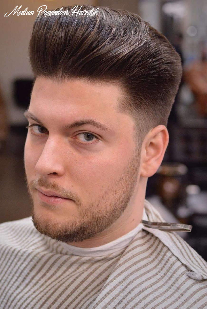 10 Pompadour Hairstyle Variations + Comprehensive Guide | Mens ...