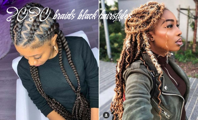 10 popular hairstyles for black women to try in 10 | stayglam 2020 braids black hairstyles