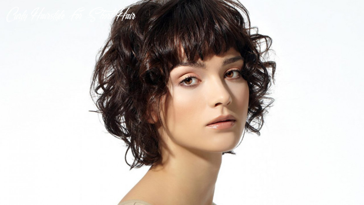 10 short curly hairstyles that are always in vogue! | livinghours curly hairstyle for short hair
