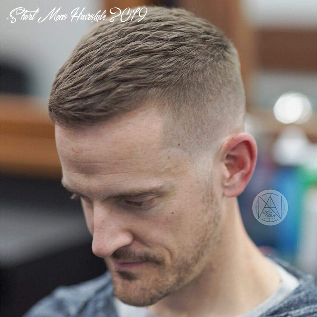 10 short haircuts for men (10 styles) short mens hairstyle 2019