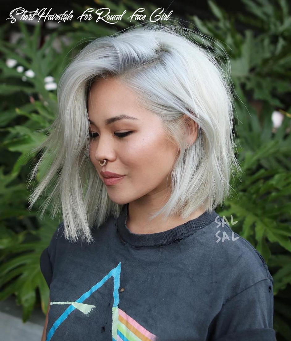10 Short Hairstyles for Round Faces with Slimming Effect - Hadviser