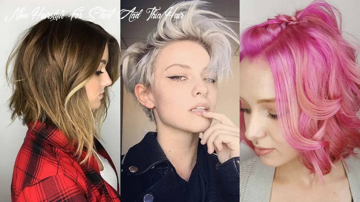 10 short hairstyles for women with thin hair | fashionisers© new hairstyle for short and thin hair