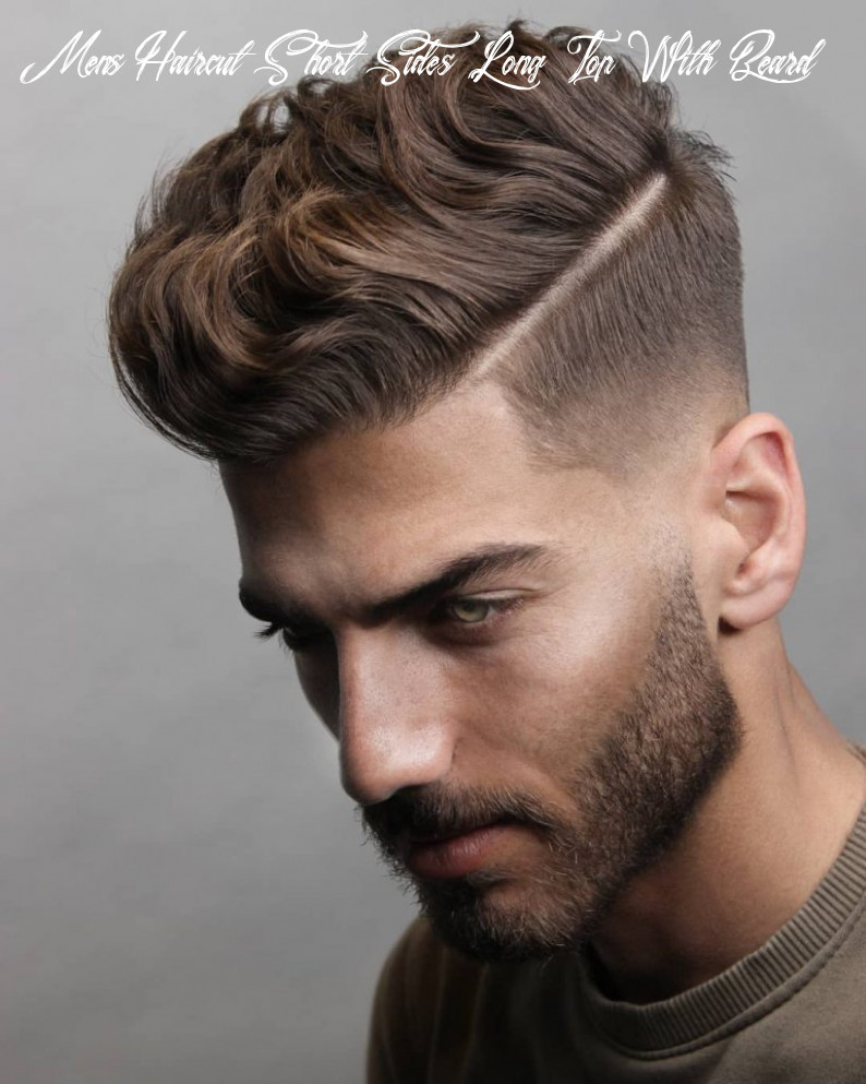 10 short on sides long on top haircuts for men | man haircuts mens haircut short sides long top with beard
