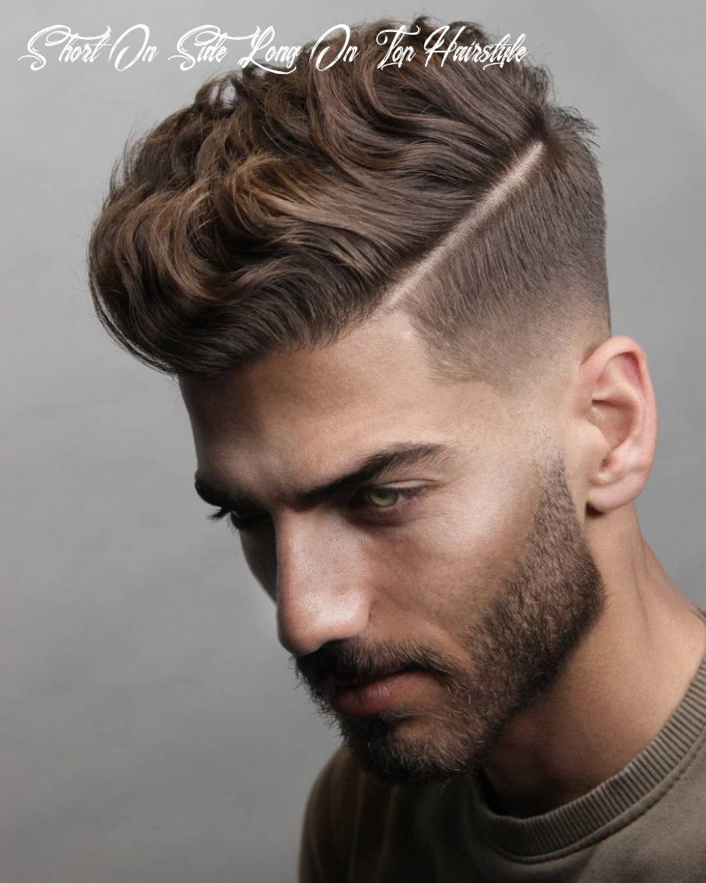 10 short on sides long on top haircuts for men   man haircuts short on side long on top hairstyle